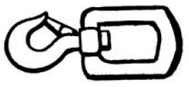 Boring Tools Swivel Safety Hook - Drillwell Ltd