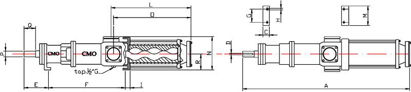 C.M.O. Pompe PS Range Size - Drillwell Ltd
