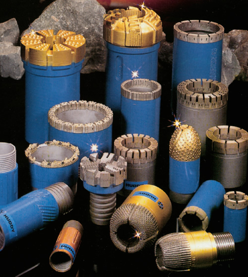 Drilling Equipment Diamond Drilling Bits Shells