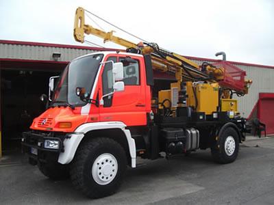 Mercedes-Benz U500 Drilling Rigs - Drillwell Ltd