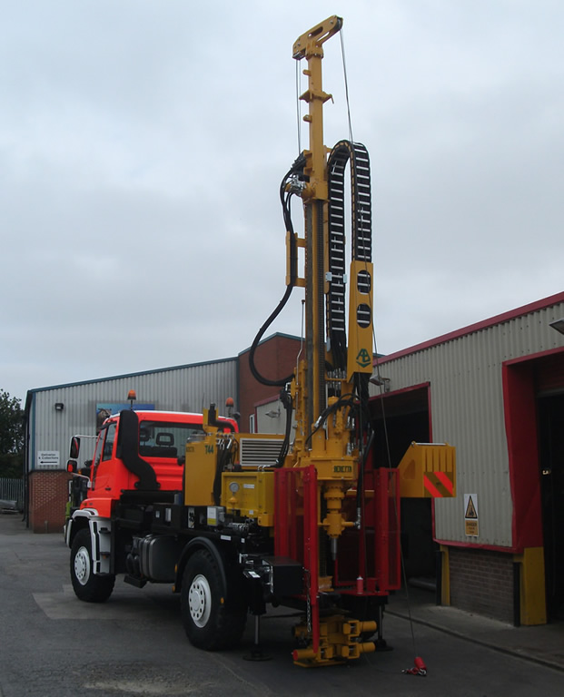 Mercedes-Benz U500 Drilling Rigs - Drillwell Ltd