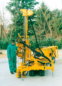 Beretta Drilling Rigs For Sale & Hire, Rotary Drilling