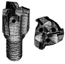 Tungsten Carbide Tipped Drag Bits Chevron - Drillwell Ltd
